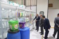 رئيس الجامعة الهاشمية يزور مجموعة مصانع العملاق ويبحث عن سبل التعاون