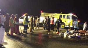 نقل 4 مصابين بحادث المعتمرين إلى الأردن