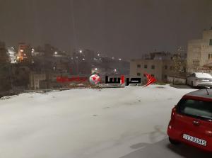بالصور والفيديو ..  الثلوج في عمان