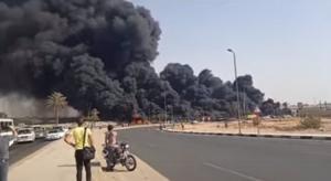 مصر: حريق ضخم يثير الهلع في الإسماعيلية
