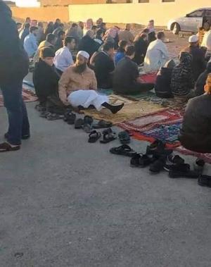 منظم صلاة العيد في معان أمام القضاء