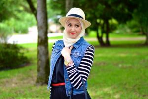 نصائح لاختيار القبعة المناسبة لإطلالتك بالحجاب (صور)