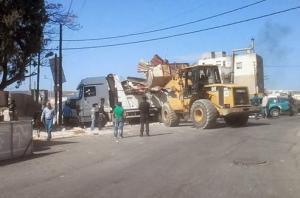 الأمانة تهجّر 30 أسرة من شارع الأردن