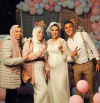 """""""العروس الحامل"""" تثير ضجة في مصر"""