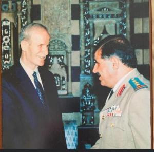 وفاة اللواء الاردني العبداللات بالجيش السوري