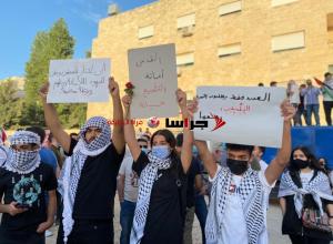 لليوم السابع  ..  تجدد الاحتجاجات قرب السفارة الاسرائيلية  ..  (صور)