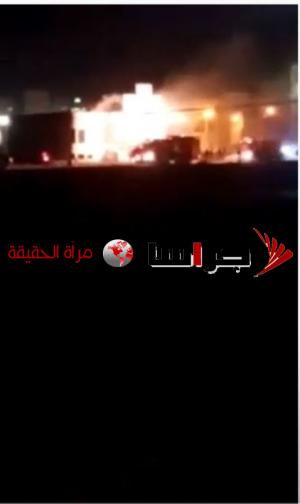 مجهولون يحرقون ديوانا في بلدة الصريح (فيديو)