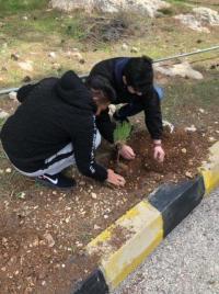 جامعة عمان الأهلية تشارك باحتفالات المملكة بيوم الشجرة