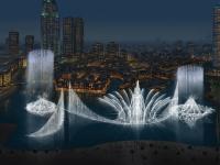 """نافورة النخلة في دبي تدخل """"غينيس""""(فيديو)"""