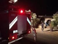 وفاة و 6 إصابات بحريق منزل في الشونة الشمالية