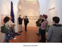 افتتاح معرض فن أردني في قرطبة