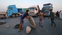 متظاهرون يغلقون المنفذ الحدودي بين العراق والكويت