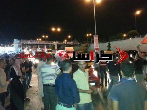 محتجون يغلقون شارع الأردن  (صور)