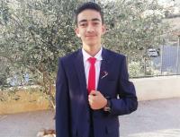 """تهنئة للطالب """"حبيب الرحمن جانم"""" بمناسبة نجاحه بالتوجيهي"""
