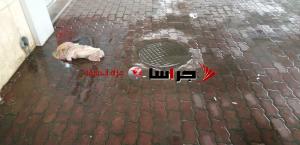 مياه الأمطار تداهم اعتصام المتعطلين عن العمل (صور)