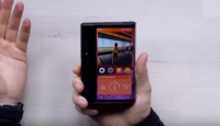 هاتف متطور قابل للطي يظهر في الأسواق قريبا