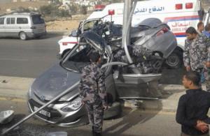 """7 اصابات بحادث على طريق اشارات """"خو"""""""