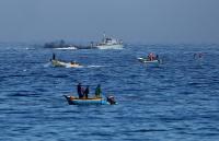 الاحتلال يعتقل صيادين فلسطينيين في بحر غزة