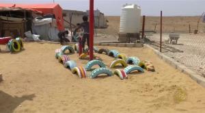 تعليق دوام المدارس السورية في الزعتري