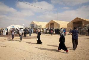 ترحيل لاجئي 'سايبر سيتي''إلى''حدائق الرمثا''