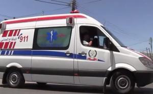 اصابة بتدهور ديانا في شارع الاستقلال