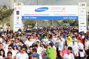 الجمعية الأردنية للماراثونات تحتفي باليوم العالمي للجري