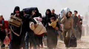 نزوح آلاف السوريين نحو الحدود الأردنية هرباً من القصف