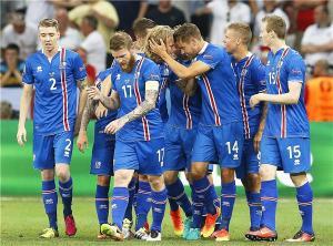 أيسلندا تفجر مفاجأة اليورو وتطيح بإنجلترا