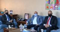 النعيمي يشكر عمان الاهلية لتخصيصها منحا دراسية لأبناء المعلمين والعاملين في التربية