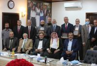 المقاصد يكرم أعضاء مجالس ادارة سابقين (صور)