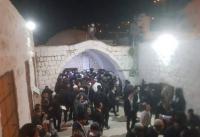 مستوطنون يقتحمون قبر يوسف و 27 اصابة باشتباك مع الإحتلال حوله (صور وفيديو)