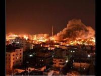 الاحتلال يقصف عدة مواقع في غزة ..  والمقاومة تتصدى
