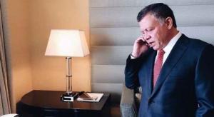 الملك يهاتف ولي عهد أبو ظبي