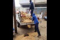 انهيارات مفاجئة للحفر الامتصاصية بالمناطق الشرقية من خان يونس
