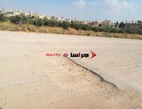 """حفريات لـ""""اليرموك"""" تدمر شوارع ببلدة بيت راس (صور)"""