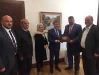 فلسطين النيابية تلتقي نائب وزير الخزانة التركي