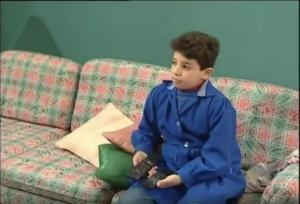 صورة : طفل جميل وهناء في المسلسل أصبح عريساً