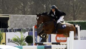 بدء فحص الخيول المشاركة ببطولة القفز عن الحواجز ..  وانطلاق الجولة الثانية الخميس
