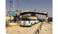 50 رجل أعمال أردني يستقبلون وفدا سوريا عند معبر جابر