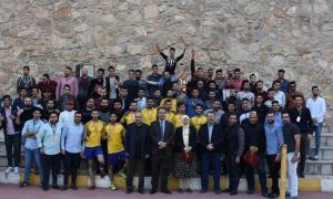 ختام فعاليات بطولة الصيدلة الكروية لطلبة جامعة عمان الأهلية
