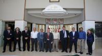 """""""الشرق الأوسط"""" تحتضن اجتماع شركاء المشروع الاوروبي (AT-SGIRES)"""