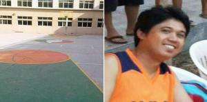 لاعب كرة سلة يموت في المباراة