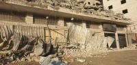 هدم منزل عائلة الشهيد علي خليفة (صور)