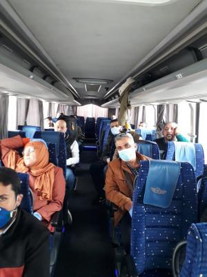 """""""جت"""" تنقل الأهل إلى فلسطين (صور)"""