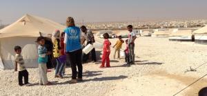 """""""الغذاء العالمي"""" ينفق 103 ملايين دولار على لاجئي سوريا بالأردن منذ مطلع 2016"""