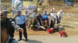 الإحتلال يستهدف فلسطينيا بحجة محاولة تنفيذ عملية طعن قرب نابلس