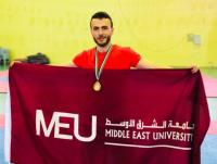 """""""الشرق الأوسط"""" تحقق ذهبية رياضة الوشوكونغ فو"""