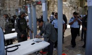 مسؤول : اتصالات أردنية سعودية إسرائيلة لاحتواء أزمة البوابات