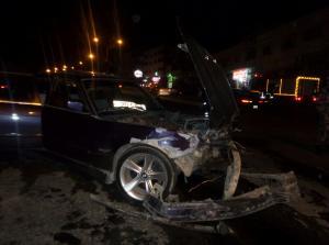 اصابة شخص بتصادم مركبتين على طريق اربد - عجلون