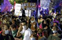 آلاف الإسرائيليين يجددون التظاهر ضد نتنياهو